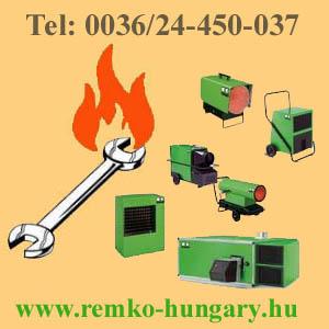 www.remko-hungary.hu REMKO holegfuvok, gázolajos, elektromos,pb gázos, blokkégős, remko hőlégfúvók,