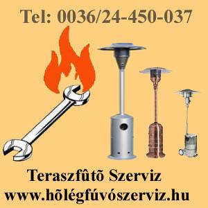 teraszfűtő szerviz, teraszfűtőszerviz, teraszsugárzó javítás,